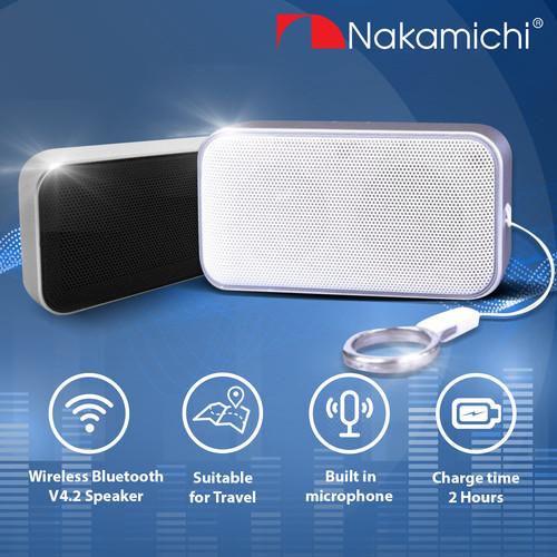 Foto Produk Nakamichi My Meiryo Lite Wireless Bluetooth Active Speaker Mini - Putih dari Nakamichi Indonesia