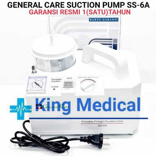 Foto Produk Suction Pump Portable 7E-A General Care ( Alat Sedot Dahak) 7EA - TIPE 7E-A dari King Medical