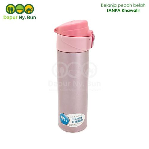 Foto Produk Botol Minum Termos Flip-Top M|N|S0 Ukuran 300ml/Flip-top Vacuum Bottle dari Dapur Ny.Bun