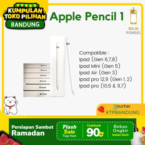 Foto Produk Apple Pencil 1 (1st Gen) - pencil dari RajaPonselcom