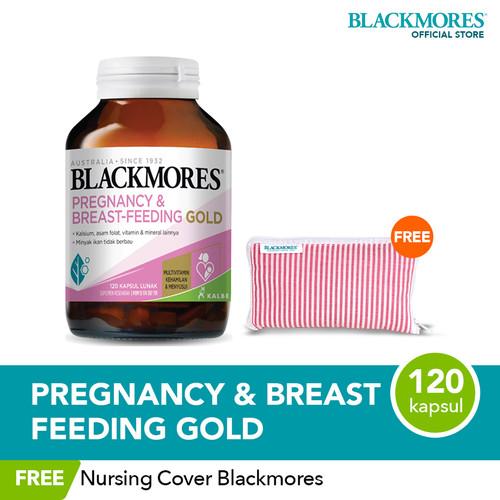 Foto Produk Blackmores Pregnancy & Breast-Feeding Gold (120) FREE Nursing Cover dari Blackmores Wellness