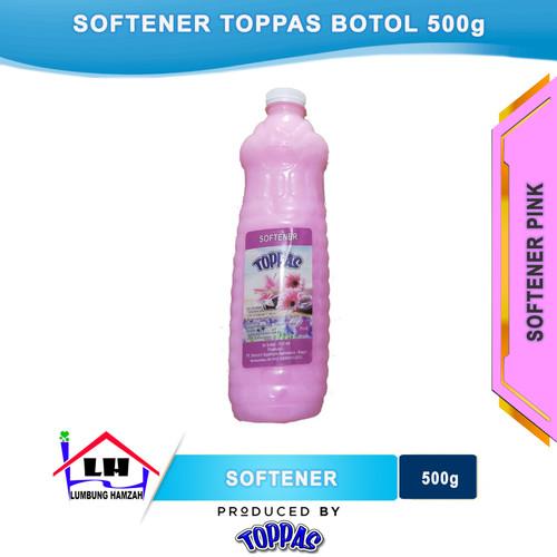 Foto Produk Softener Pink Botol 500 ml TOPPAS Mutu TOP Harga PAS dari Toko Sabun Hamzah