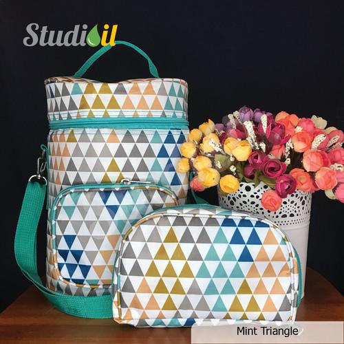Foto Produk MURAH Paket Diffuser Bag + Pouch Oil 6++ - Mint Triangle dari Studioil1