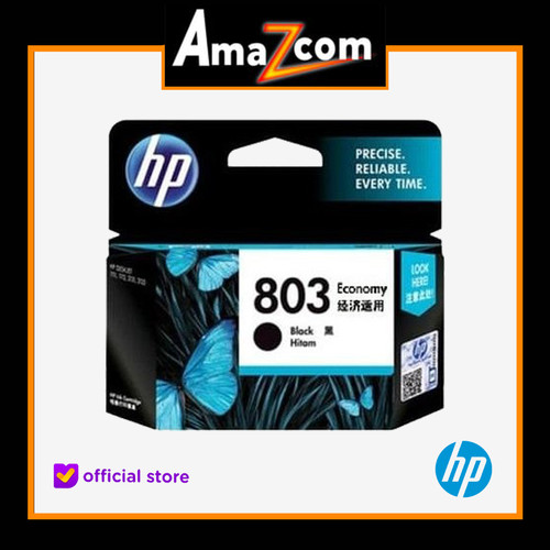 Foto Produk HP 803 Economy Black Original Ink Cartridge ( 3YP42AA ) dari amazcom