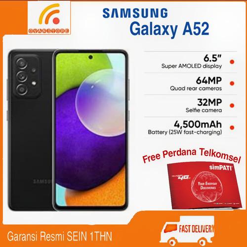 Foto Produk Samsung Galaxy A52 Ram 8/128GB Garansi Resmi SEIN - Hitam dari OVANST0RE