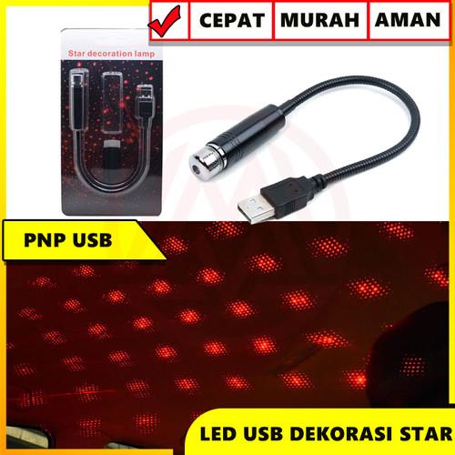 Foto Produk LAMPU LED DEKORASI INTERIOR MOBIL MODEL LANGIT BINTANG COLOK USB dari Modifikasi Market
