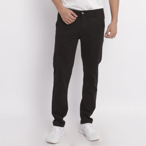 Foto Produk Edwin Jeans Celana Chinos Ednos Black Slim Fit Stretch - Hitam, 28 dari Edwin Jeans