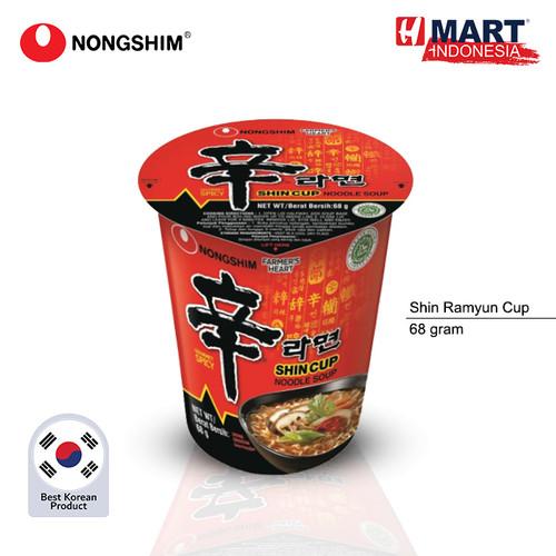 Foto Produk NONGSHIM Shin Ramyun Spicy Cup 68g dari H Mart Official Shop