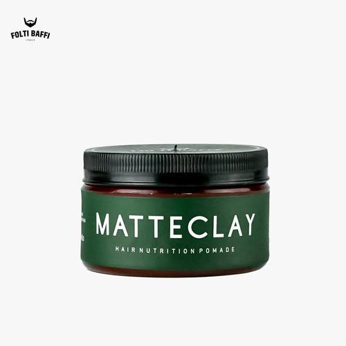 Foto Produk Pomade Matte Clay Penataan Rambut Dgn Hasil Tahan lama dari Folti Baffi Official