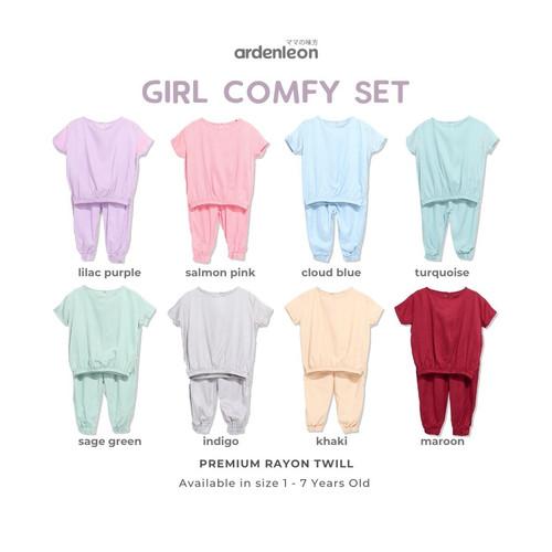 Foto Produk ARDENLEON Girl Comfy Set - Lilac Purple, M dari ARDENLEON