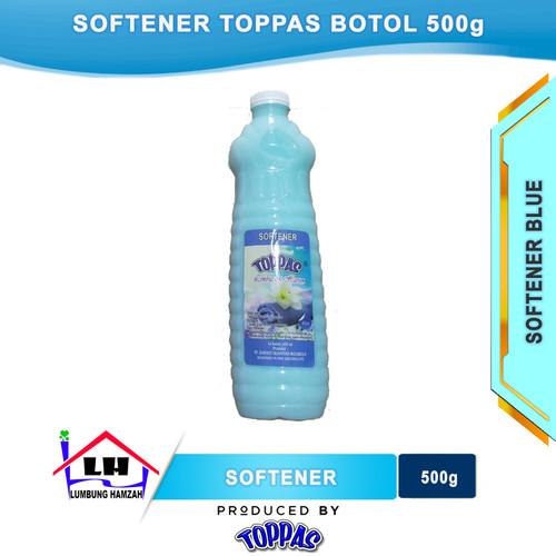 Foto Produk Softener Blue Botol 500 ml TOPPAS Mutu TOP Harga PAS dari Toko Sabun Hamzah