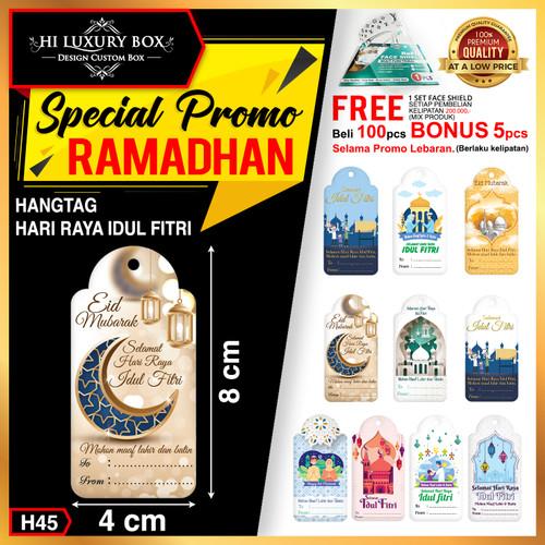 Foto Produk Hangtag|Hangtag Murah|Hangtag Lebaran|Hangtag Idul Fitri|4x8|H45 - All Variant dari Hi Luxury Box