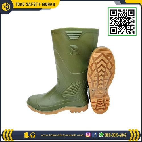 Foto Produk Sepatu Boot AP Terra Eco 3 / Eco3 Hijau Karet Tinggi Panjang ORIGINAL dari Toko Safety Murah