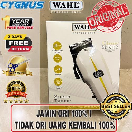 Foto Produk Alat Cukur / Mesin cukur / WAHL Super Taper Original USA dari Cygnus Gadget Store