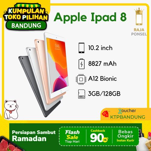 Foto Produk Apple iPad 8 / 8th Gen 2020 10.2 Inch 128GB Wifi only BNIB - Gold dari RajaPonselcom