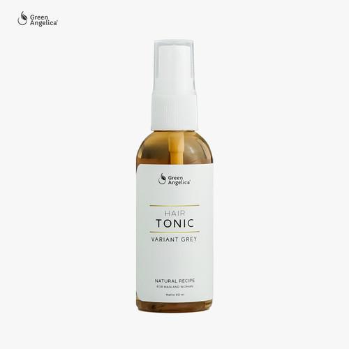 Foto Produk Obat Penghitam Uban Rambut - Green Angelica Hair Tonic Grey 60 ml dari GreenAngelica Official