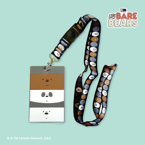 Foto Produk We Bare Bears ID Card Holder & Lanyard Set dari We Bare Bears ID