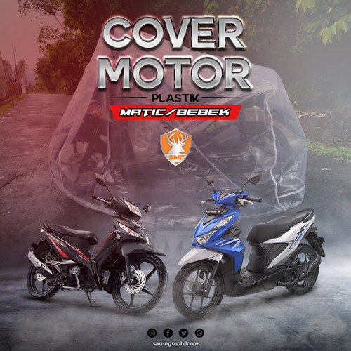 Foto Produk Sarung / Cover Motor Plastik Disposable - Bebek dari SarungMobilCom