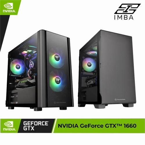 Foto Produk PC GAMING | i5-10400f | GTX1660 | 8GB | SSD | GAMING DESIGN PC - i5-10400Fx1660 dari IMBA PC
