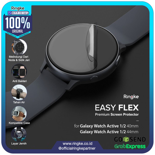 Foto Produk Ringke Galaxy Watch Active 2 / 1 Easy Flex Screen Protector Anti Gores - 40mm dari Official Ringke Partner
