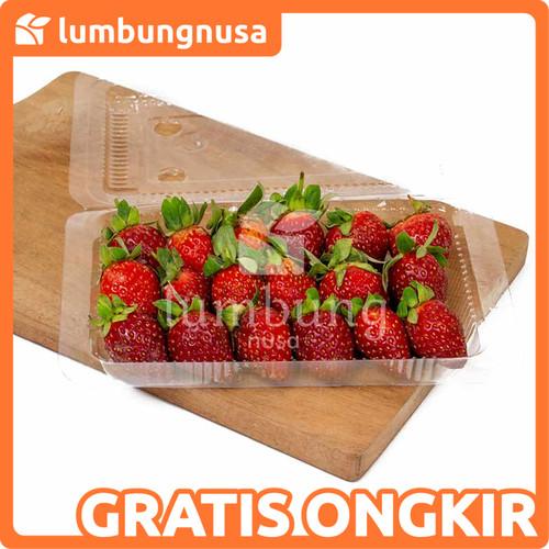 Foto Produk Strawberry (120 - 220 gr) - Reguler +-120gr dari Lumbung Nusa