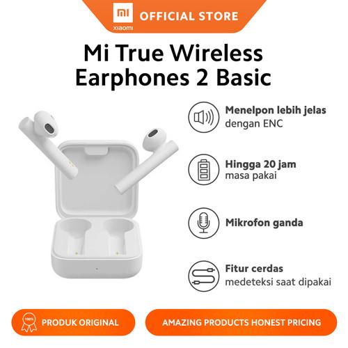 Foto Produk Xiaomi Official Mi True Wireless TWS Earphones 2 Basic Earphone dari Xiaomi Official Store