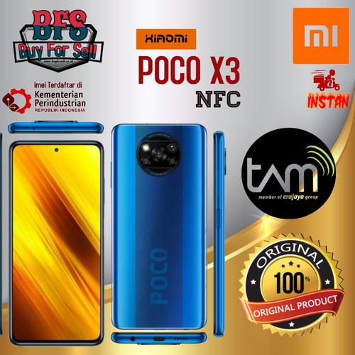 Foto Produk XIOMI POCO X3 NFC 6/64 -8/128 GB GARANSI RESMI - blue, 8/128 dari BuyForSell