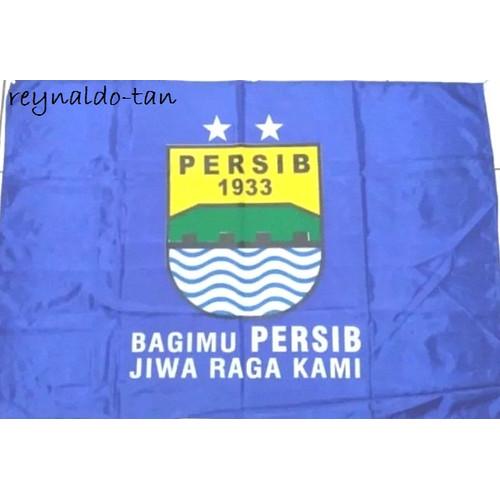 Foto Produk Bendera Persib Bandung uk 75x115 Sepak Bola 75 x 115 dari reynaldo-tan