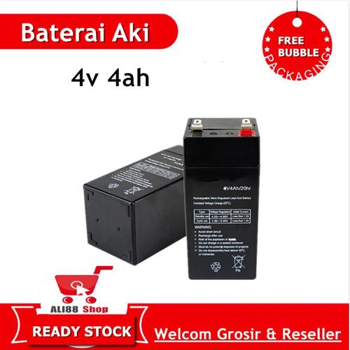 Foto Produk Baterai 4V 4AH untuk timbangan digital dari Ali88shop