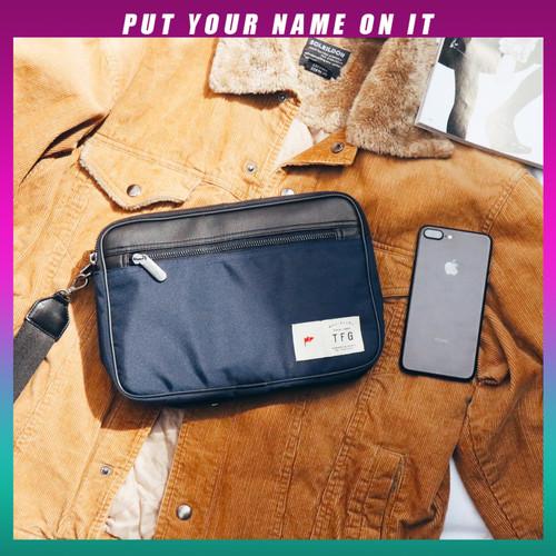 Foto Produk POUCH CLUTCH TFG BOLD 417 BLUE - Biru dari TFG (Taylor Fine Goods)