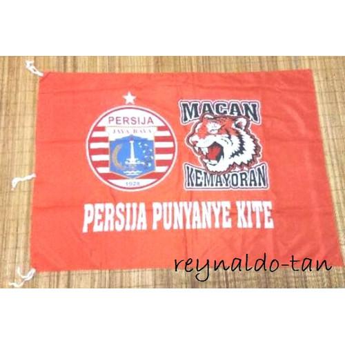 Foto Produk Bendera Persija Macan uk 75x115 cm Sepak Bola 75 x 115 cm dari reynaldo-tan