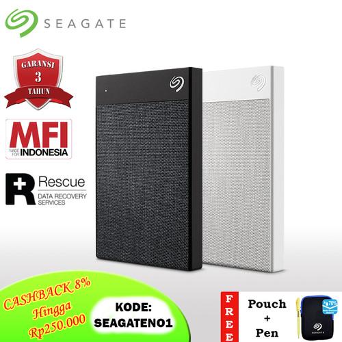 Foto Produk Seagate Backup Plus Ultra Touch Hardisk Eksternal 2TB USB3.0 + PC [FS] - Hitam dari Seagate Official Store