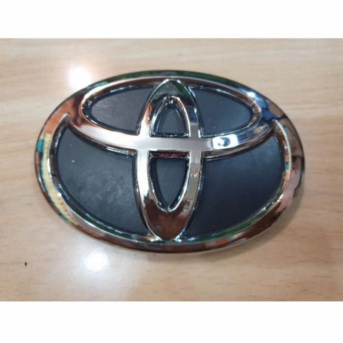 Foto Produk Emblem/Logo Depan Toyota (All New Avanza 2012-2015) - Chrome Hitam dari auliaautostore07