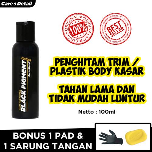Foto Produk Black Pigment | Trim Restorer Penghitam Plastik Body Motor / Mobil dari Care & Detail Official
