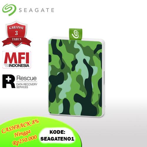 Foto Produk Seagate One Touch SSD 500GB USB3.0 SSD Eksternal - Camo Green [FS] dari Seagate Official Store