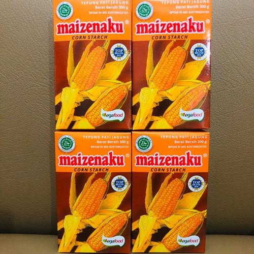 Foto Produk Maizena Maizenaku Tepung Jati Jagung Corn Starch 100 gr dari Healthy By Tasty