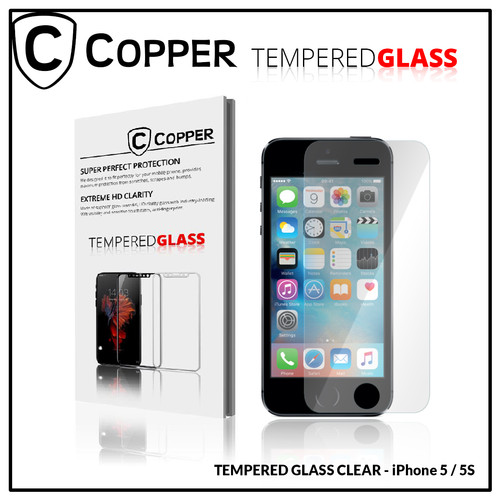 Foto Produk iPhone 5 - COPPER TEMPERED GLASS FULL CLEAR dari Copper Indonesia