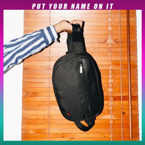 Foto Produk WAIST BAG TAS PINGGANG TFG MARCIANO 411 BLACK dari TFG (Taylor Fine Goods)