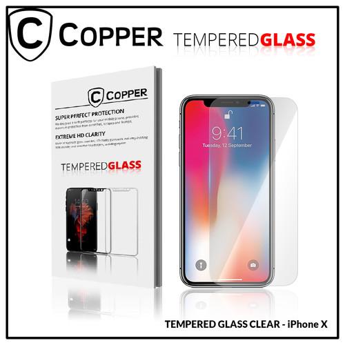 Foto Produk iPhone X - COPPER TEMPERED GLASS FULL CLEAR dari Copper Indonesia