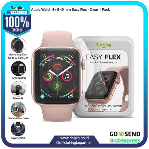 Foto Produk Ringke Apple Watch 4 Watch 5 Easy Flex Screen Protector Anti Gores - 40mm dari Official Ringke Partner