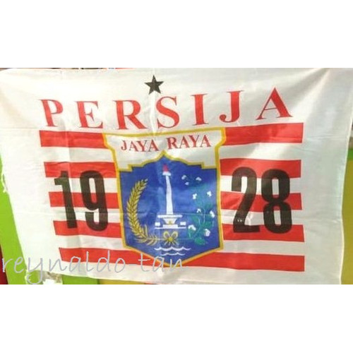 Foto Produk Bendera Persija uk 75x115 cm Sepak Bola 75 x 115 cm dari reynaldo-tan