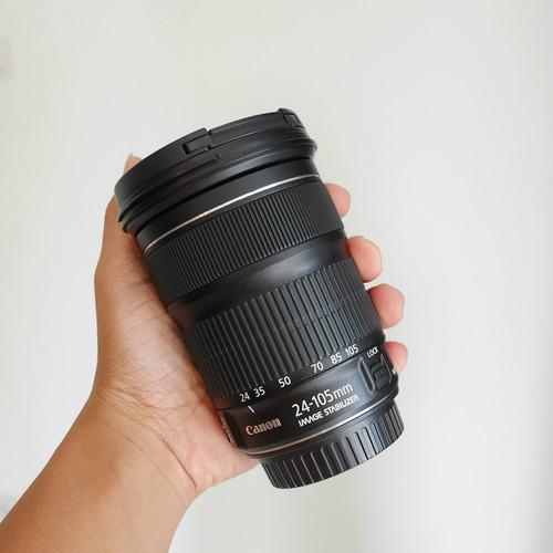 Foto Produk LENSA CANON EF 24-105mm IS STM sn 2973 dari kamera mbantul
