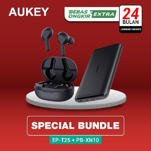 Foto Produk [PAKET] Aukey TWS EP-T25 - 500538 + Aukey Powerbank dari AUKEY