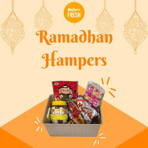 Foto Produk Hampers Ramadhan Lebaran Parcel Hadiah Makanan Gratis Box Mewah - Paket Asik dari TokoUsbcom