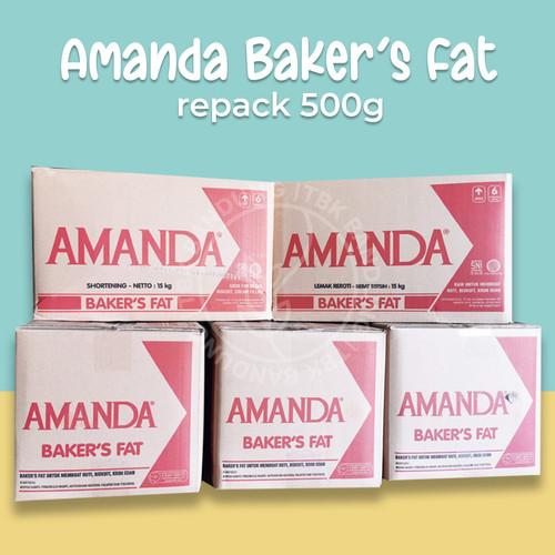 Foto Produk Amanda Bakers Fat Mentega Putih Repack 1000 gr - 500 dari TBK Bandung