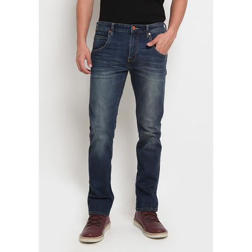 Foto Produk Wrangler Spenc Long Pants SPENCSM7BC01P21 Dark Blue - 30, Dark Blue dari Wrangler Indonesia