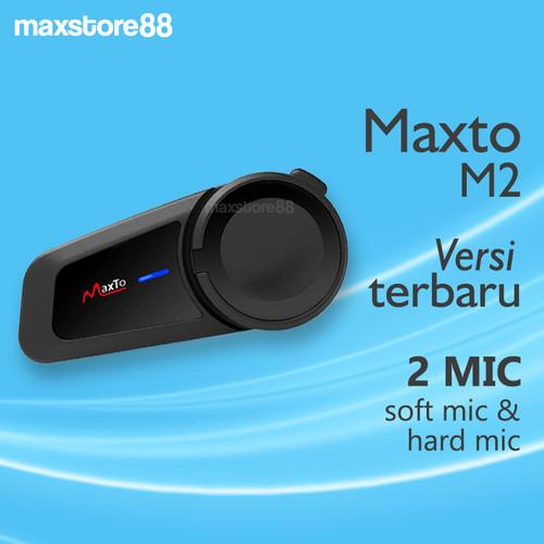 Foto Produk Maxto M2 Intercom Bluetooth Helm 6 Rider Original dari maxstore88
