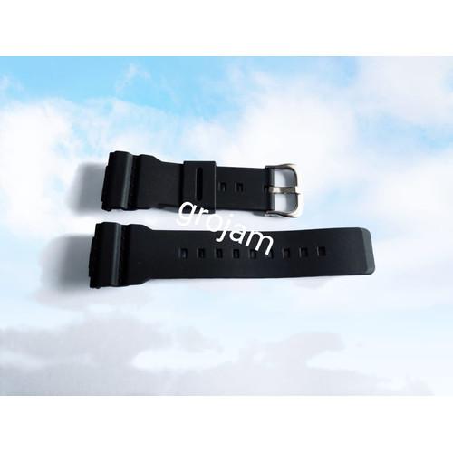 Foto Produk STRAP TALI JAM CASIO BABY-G BABY G BA 110 BA-110 BA110 BA 111 BA 112 - Hitam dari grojam