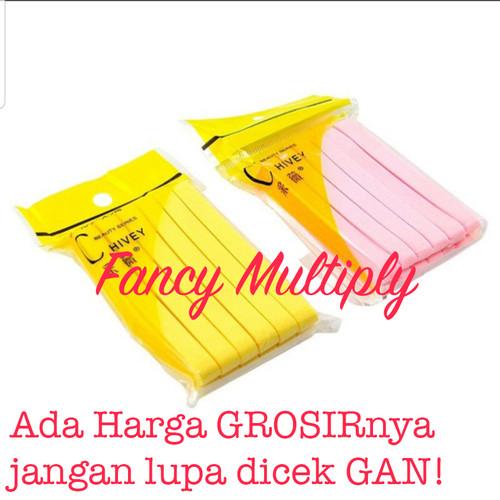 Foto Produk 12pcs- Spon Kentang Chivey / Sponge facial Chivey - kuning - isi 12pcs dari Fancy Multiply
