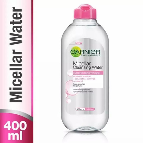Foto Produk Garnier Micellar Cleansing Water Pink/Blue 400ml - Pink dari Bakso Mbah Uti